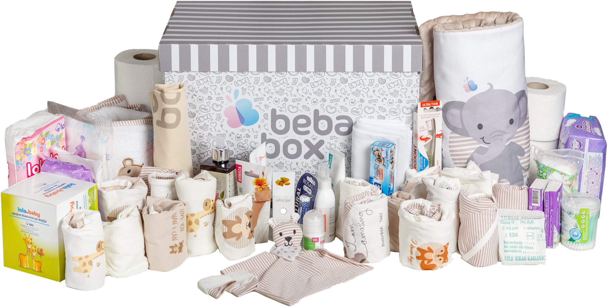 BebaBox Contents